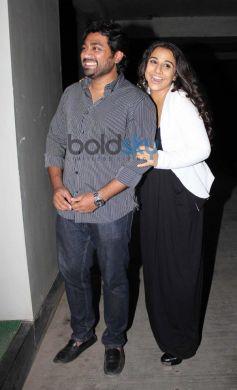 Vidya Balan with friend at Shaadi Ke Side Effects screening