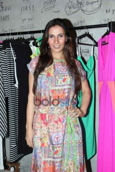 Vj Romona at Harsh Gupta's summer collection showcase