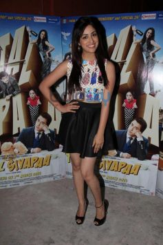 Yami Gautam stuns during Total Siyappa promotion