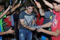 Aamir Khan attend All India Women's Open Tennis Tournament