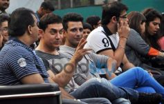 Aamir Khan,Sharman Joshi attend All India Women's Open Tennis Tournament