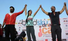 Abhishek Bachchan at DNA I Can Women's Half Marathon 2014