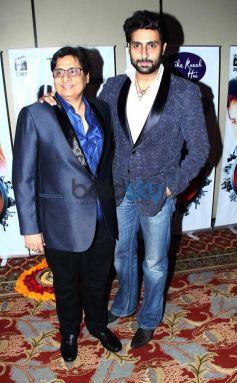 Abhishek bachchan during Vasu Bhagnani Pooja films Party