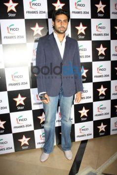 Abhishek Bachchan at FICCI Frames 2014