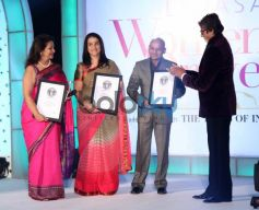 Amitabh Bachchan during Lavasa Women Drive Awards 2014