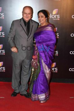 Anupam and Kiran Kher at star studded colors party