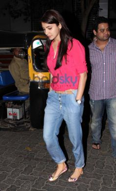 Anushka Sharma snapped at PVR Juhu