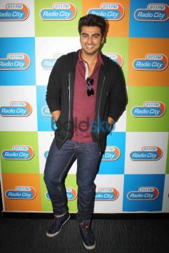 Arjun Kapoor during 2 states promotion