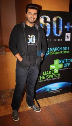 Arjun Kapoor endorses Earth Hour 2014