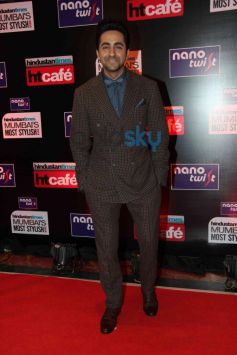 Ayushman Khurana during HT Mumbai's Most Stylish Awards 2014