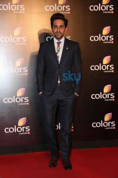 Ayushman Khurana at star studded colors party