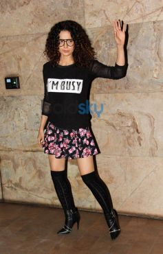 Kangana Ranaut at special screening of Queen