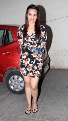 Sonakshi Sinha at special screening of Queen