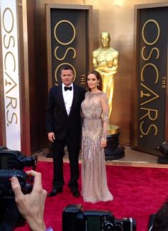 Brad Pitt and Angelina Jolie Celebs at Oscars 2014