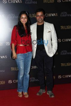 Celebs at Chivas bash