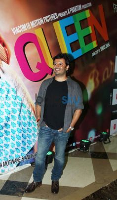 Celebs during Queen success bash