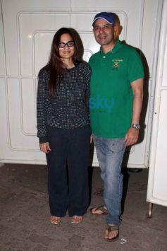 Celebs at screening of  O Teri Film