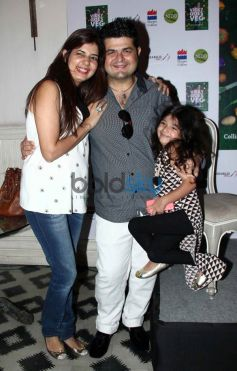 Daboo and Manisha Ratnani during launch