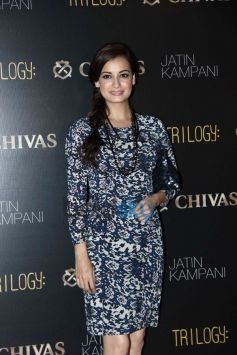 Dia Mirza at Chivas bash