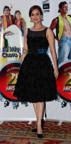 Dia mirza stuns during Vasu Bhagnani Pooja films Party