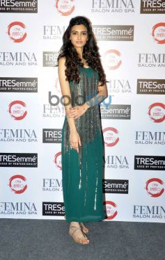 Diana Penty launches Femina Salon & Spa cover