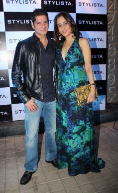 Farha Ali Khan with husband Akeel stuns at stylista party