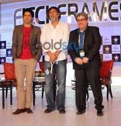 Farhan Akhtar with Guest FICCI Frames 2014