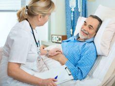 Get hospitalised