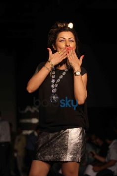 Hard Kaur during LFW 2014