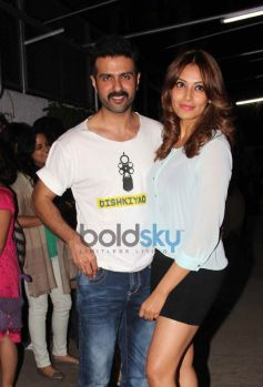 Harman Baweja and Bipasha Basu at special screening of Dishkiyaoon