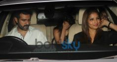 Harman Baweja, Bipasha basu snapped at yauatcha restaurent in bandr