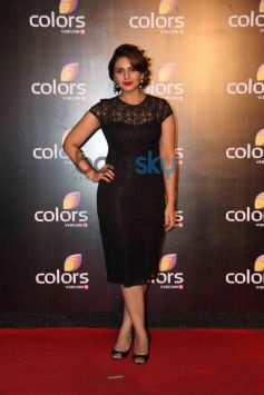 Huma Qureshi at star studded colors party
