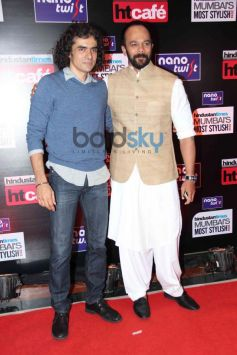 Imtiaz Ali with Rohit Shetty during HT Mumbai's Most Stylish Awards 2014