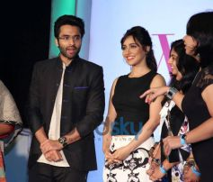 Jackky Bhagnani, Neha Sharma at Lavasa Women Drive Awards 2014