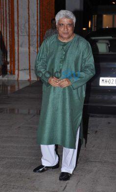 Javed Akhtar  at Kangna Ranaut Birthday Bash