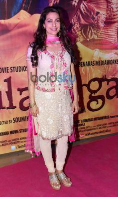 Juhi Chawla at Gulab Gang special screening