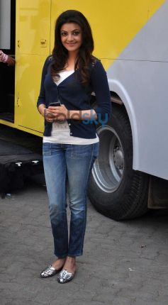 Kajal Agarwal at Mehboob studio bandra