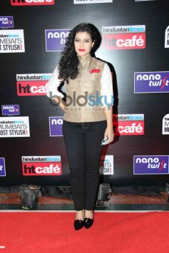 Kajol at HT Mumbai's Most Stylish Awards 2014