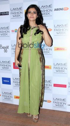 Kajol at Lakme Fashion Week Summer Resort 2014