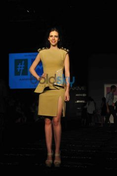 Kalki Koechlin during LFW 2014