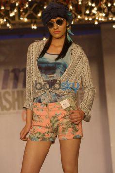 Model ramp walk at Max Fashion Icon 2014