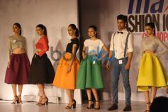 Models ramp walk at Max Fashion Icon 2014