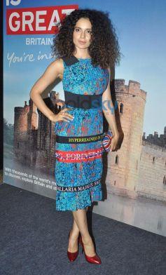 Kangana Ranaut at Bollywood Themed Travel App Launch