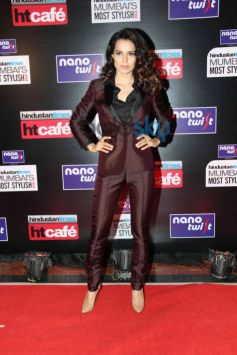 Kangana Ranaut at HT Mumbai's Most Stylish Awards 2014