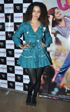 Kangana Ranaut at Queen special screening at ligthbox