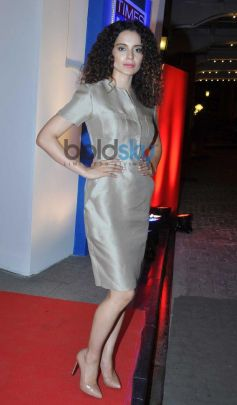 Kangana Ranaut at Times Now Foodie Awards