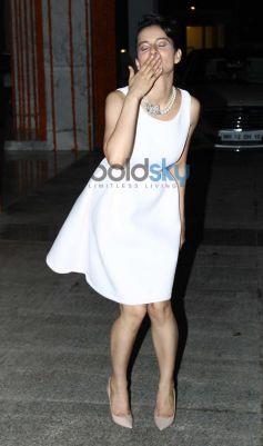 Kangna Ranaut during her Birthday Bash