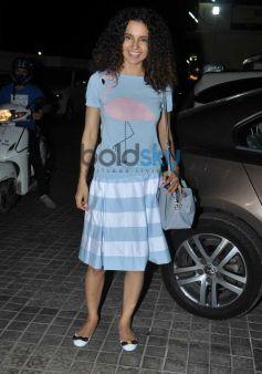 Kangna Ranaut at Queen special screening at pvr juhu