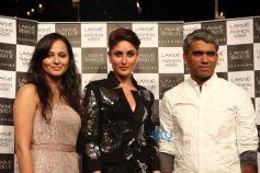 Kareena Kapoor Khan at LFW 2014 finale Rajesh Pratap Singh show
