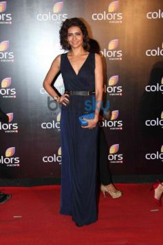 Karishma Tanna at star studded colors party